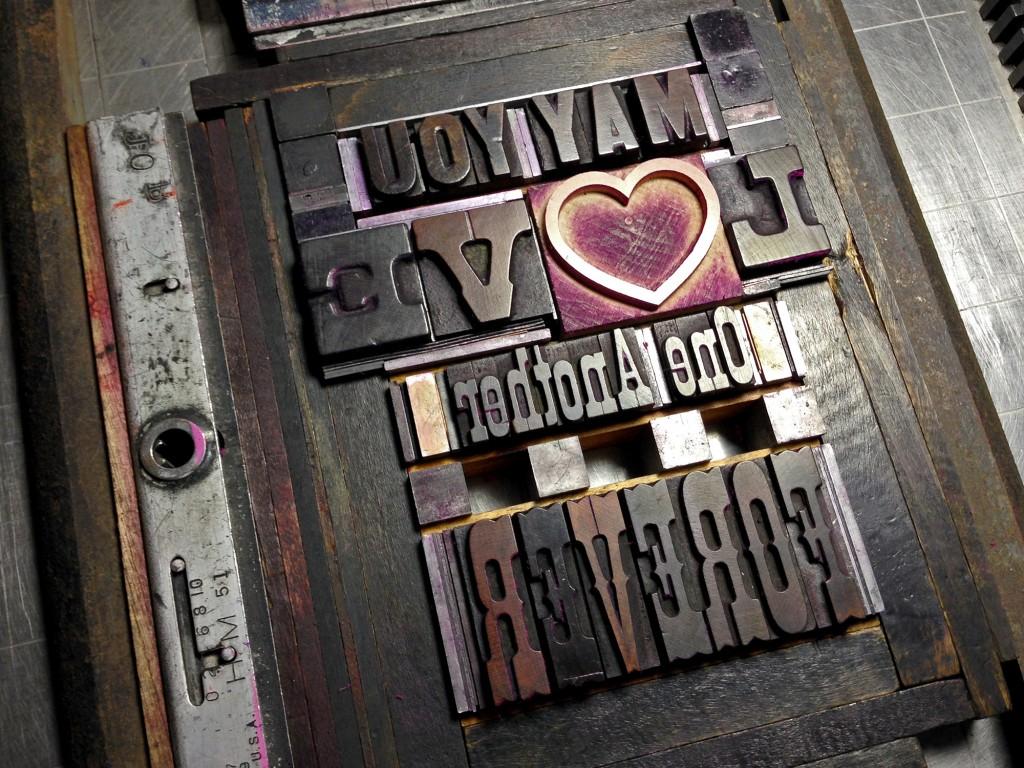 letterpress forme forever card 1